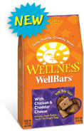 Wellness Wellbars Chicken and Cheddar Dog Treats