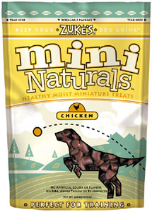 Zuke's Chicken Mini Naturals Dog Treats
