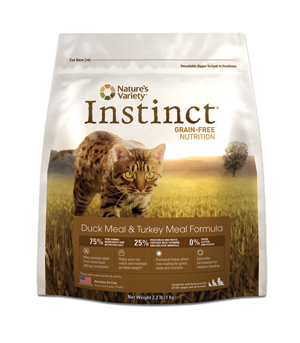 Nature's Variety Instinct Duck Cat Kibble