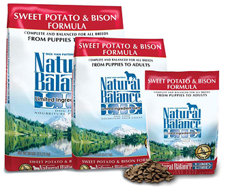 Natural Balance Bison and Sweet Potato Kibble