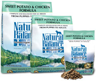 Natural Balance Chicken and Potato Dog L.I.D.