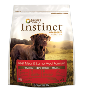Nature's Variety Instinct Beef and Lamb Kibble