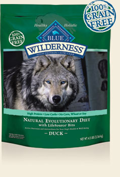 Blue Buffalo K9 Wilderness Adult Duck Dog Food