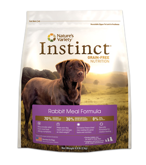 Nature's Variety Instinct Rabbit Dog Kibble