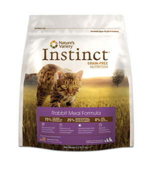 Nature's Variety Instinct Rabbit Cat Kibble