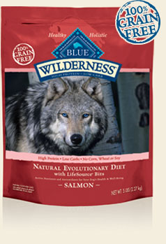 Blue Buffalo K9 Wilderness Adult Grain Free Salmon