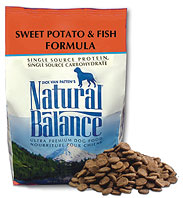 Natural Balance Sweet Potato and Fish Dog Food