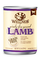 Wellness 95% Lamb Dog Food Cans