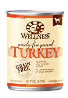 Wellness 95% Turkey Dog Food Cans