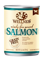 Wellness 95% Salmon Dog Food Cans