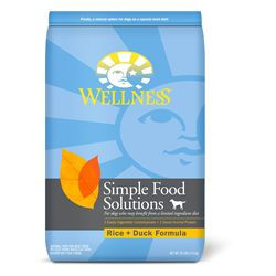 Wellness Simple Solutions Duck and Rice Dog Food