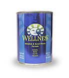 Wellness Fish and Sweet Potato Dog Food Cans