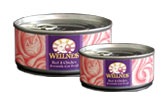 Wellness Beef and Chicken Cat Food Cans