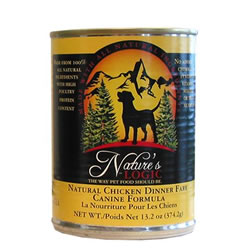 Nature's Logic Chicken Dog Food Cans
