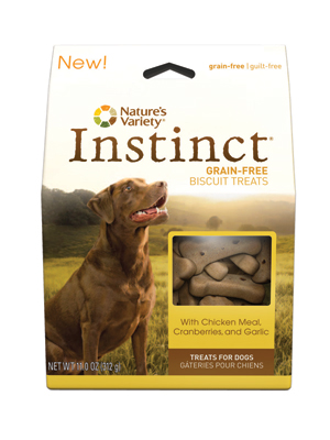 Nature's Variety Instinct CKN Grain-Free Biscuit Treats