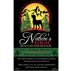 Nature's Logic Venison Dog Kibble