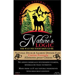 Nature's Logic Duck and Salmon Dog Kibble