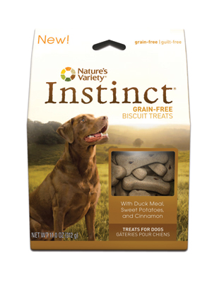 Nature's Variety Instinct Duck Dog Biscuits