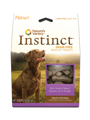 Nature's Variety Instinct Rabbit Biscuits