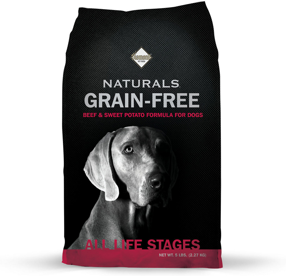 Diamond Grain Free Naturals Beef & Sweet Potato Dog Kibble