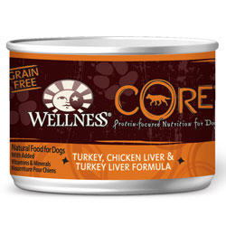 Wellness Core Chicken Dog Food Cans