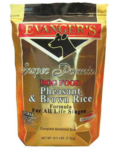 Evangers Pheasant & Brown Rice