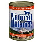 Natural Balance Fish and Sweet Potatoes Dog Food