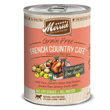 Merrick French Country Caf_ Dog Food Cans