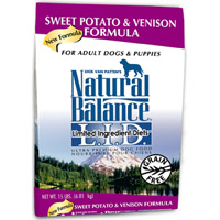 Natural Balance Venison and Sweet Potato Dry Dog Food