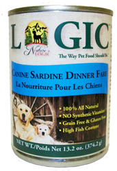 Nature's Logic Sardine Dog Food Cans