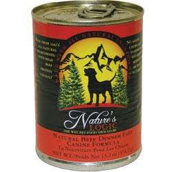 Nature's Logic Dog Beef Cans