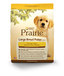 Nature's Variety Prairie Large Breed Puppy Food