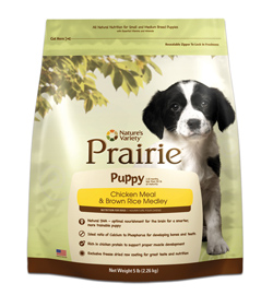 Nature's Variety Prairie Puppy Food