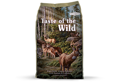 Taste of the WIld Pine ForestΠCanine Formula with Venison & Legumes