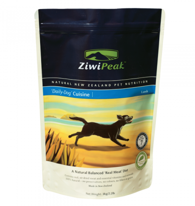 Ziwi Peak Lamb Real Meat Dog Food