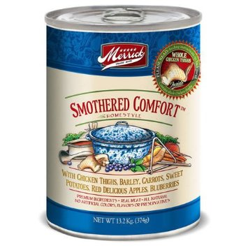 Merrick Smothered Comfort Dog Food Cans