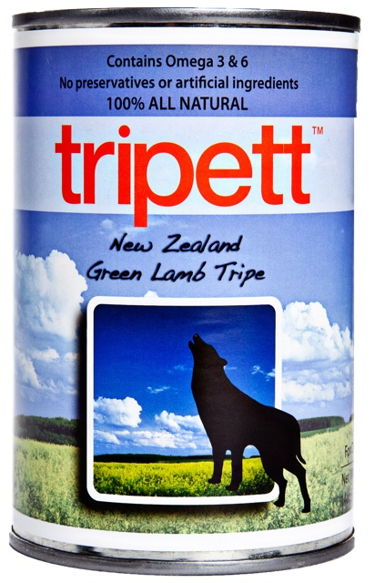 Tripett New Zealand Green Lamb Tripe Dog Food
