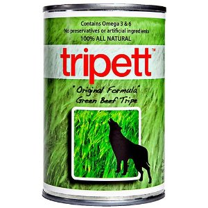 Tripett Green Beef Tripe Dog Food