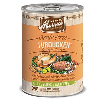 Merrick Turducken Dog Food Cans
