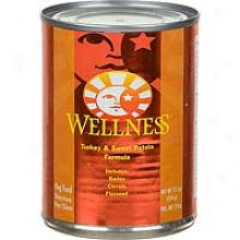 Wellness Turkey and Sweet Potato Cans