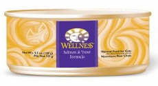 Wellness Salmon and Trout Cat Food Cans