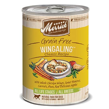 Merrick Wingaling Dog Food Cans