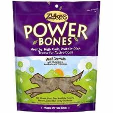 Zuke's Beef Power Bones Dog Treats