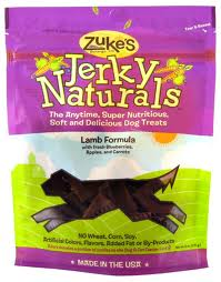 Zuke's Lamb Jerky Naturals Dog Treats